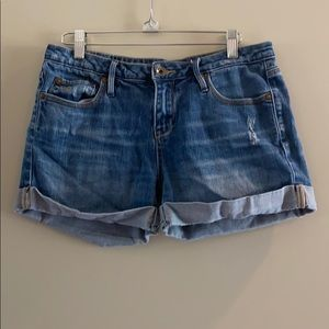 Denim shorts from quiksilver